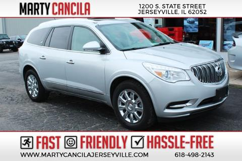 2014 Buick Enclave Leather for sale at Marty Cancila Chrysler Dodge Jeep Ram in Jerseyville IL