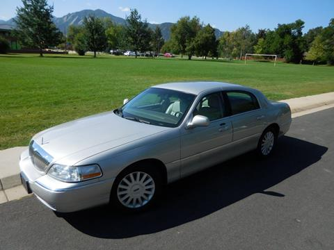 2005 Lincoln Town Car for sale in Boulder, CO