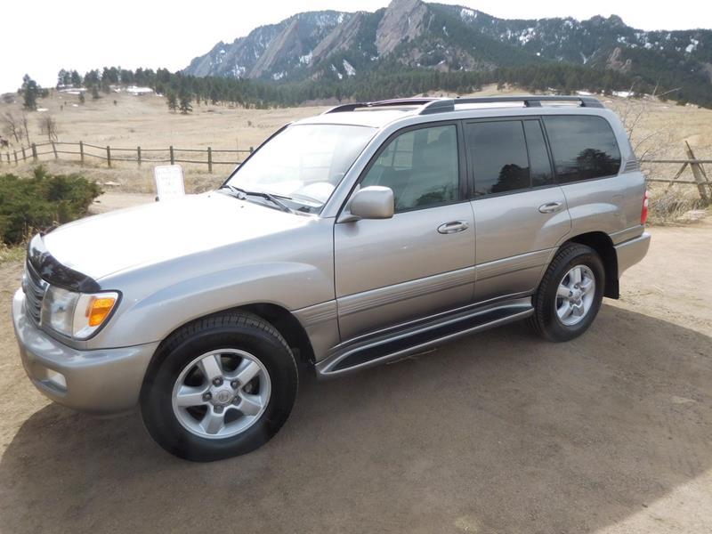 2004 Toyota Land Cruiser AWD 4dr SUV In Boulder CO - Boulder