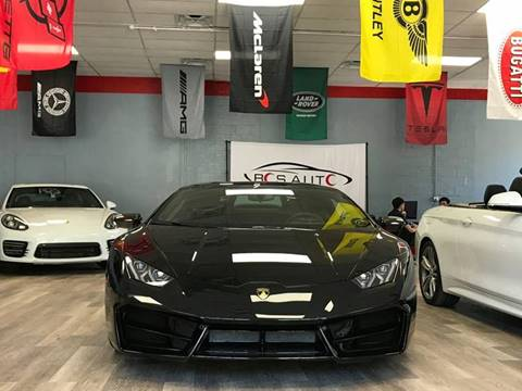 2016 Lamborghini Huracan for sale at Bos Auto Inc in Quincy MA
