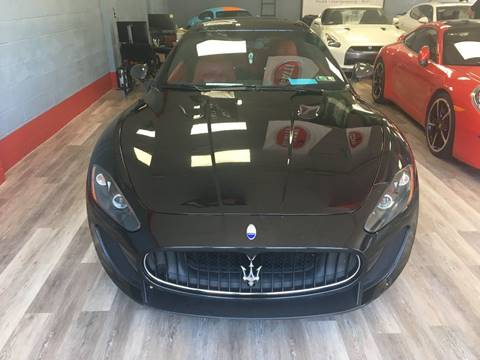 2012 Maserati GranTurismo for sale at Bos Auto Inc in Quincy MA