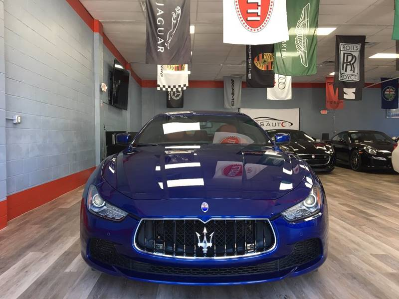 2015 Maserati Ghibli for sale at Bos Auto Inc in Quincy MA