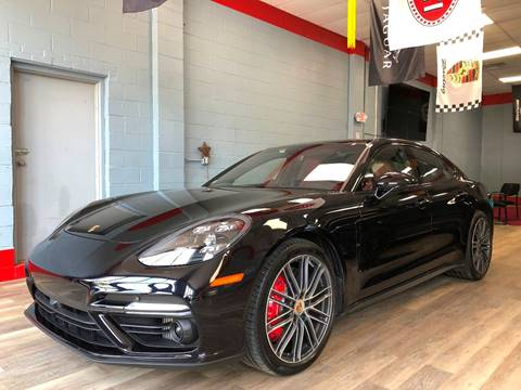 2017 Porsche Panamera for sale at Bos Auto Inc in Quincy MA