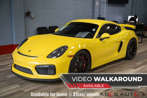 2016 Porsche Cayman for sale at Bos Auto Inc in Quincy MA