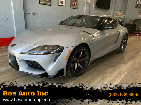 2020 Toyota GR Supra for sale at Bos Auto Inc in Quincy MA