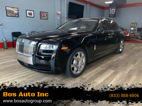2012 Rolls-Royce Ghost for sale at Bos Auto Inc in Quincy MA