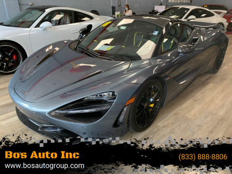 2018 McLaren 720S for sale at Bos Auto Inc in Quincy MA