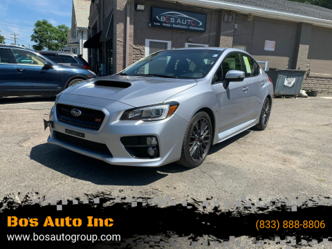 2015 Subaru WRX for sale at Bos Auto Inc in Quincy MA