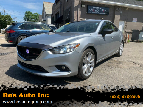2016 Mazda MAZDA6 for sale at Bos Auto Inc in Quincy MA