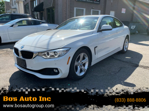2014 BMW 4 Series for sale at Bos Auto Inc in Quincy MA