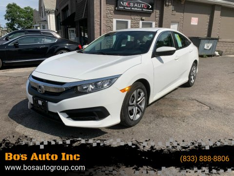 2016 Honda Civic for sale at Bos Auto Inc in Quincy MA