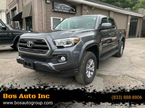 2017 Toyota Tacoma for sale at Bos Auto Inc in Quincy MA