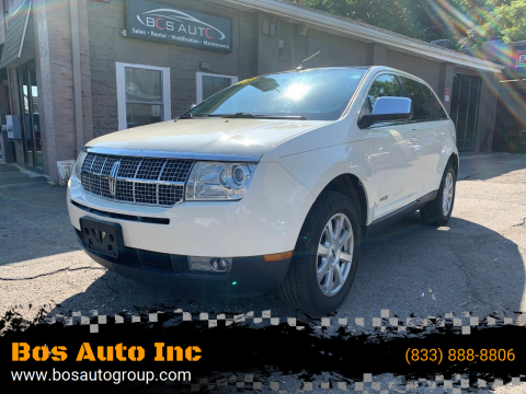 2007 Lincoln MKX for sale at Bos Auto Inc in Quincy MA