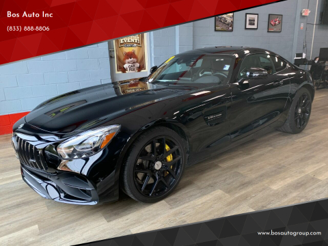2018 Mercedes-Benz AMG GT for sale at Bos Auto Inc in Quincy MA
