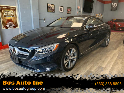 2016 Mercedes-Benz S-Class for sale at Bos Auto Inc in Quincy MA