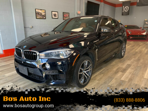2016 BMW X6 M for sale at Bos Auto Inc in Quincy MA