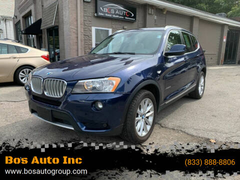 2014 BMW X3 for sale at Bos Auto Inc in Quincy MA