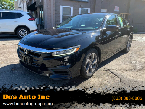 2019 Honda Insight for sale at Bos Auto Inc in Quincy MA