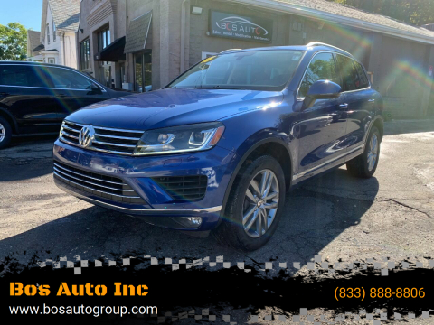 2016 Volkswagen Touareg for sale at Bos Auto Inc in Quincy MA