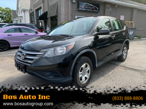2012 Honda CR-V for sale at Bos Auto Inc in Quincy MA