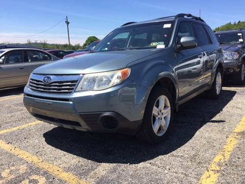 2009 Subaru Forester for sale at Export Auto Sales in Export PA