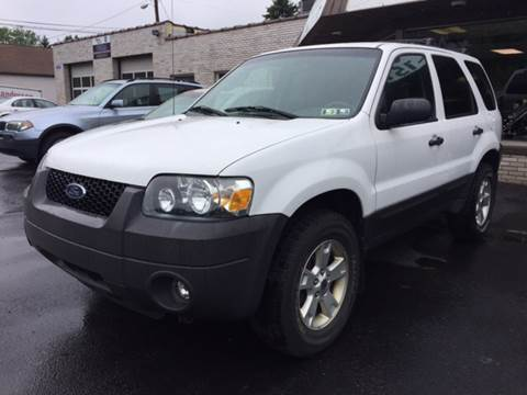 2006 Ford Escape for sale at Export Auto Sales in Export PA
