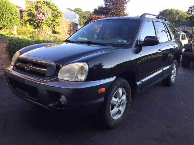 2005 Hyundai Santa Fe for sale at Export Auto Sales in Export PA