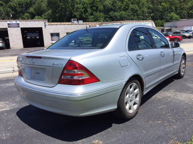 2006 Mercedes-Benz C-Class for sale at Export Auto Sales in Export PA