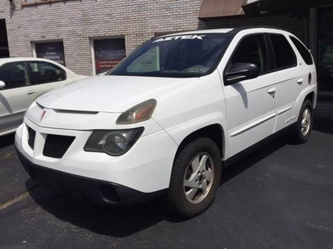 2002 Pontiac Aztek for sale at Export Auto Sales in Export PA