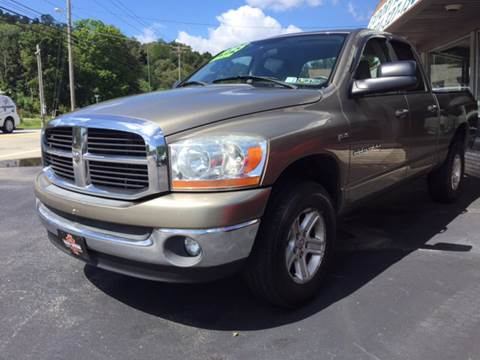 2006 Dodge Ram Pickup 1500 for sale at Export Auto Sales in Export PA