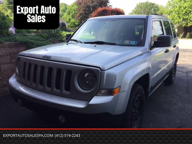 2011 Jeep Patriot For Sale At Export Auto Sales In Export PA