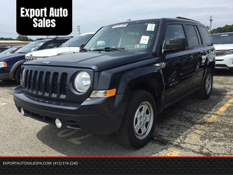 2014 Jeep Patriot for sale in Export, PA
