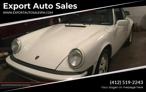 1988 Porsche 911 for sale in Export, PA
