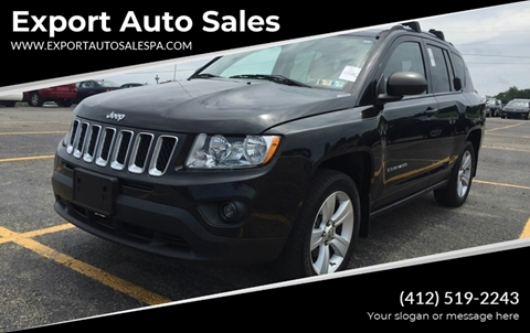 2011 Jeep Compass for sale in Export, PA