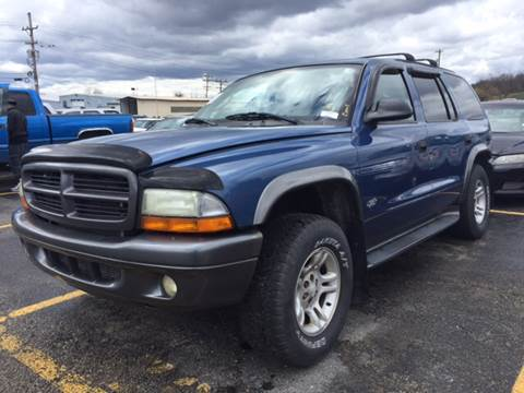 2002 Dodge Durango for sale at Export Auto Sales in Export PA