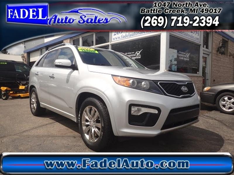 2011 kia sorento sx in battle creek mi fadel auto sales