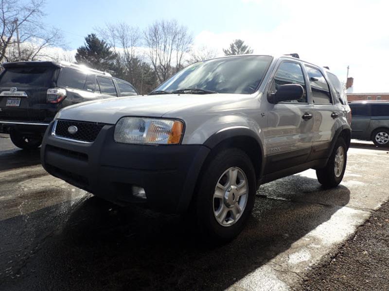 2002 Ford Escape for sale at Fadel Auto Sales in Battle Creek MI