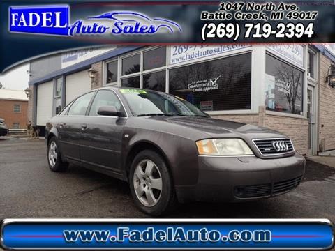 2001 Audi A6 for sale in Battle Creek, MI