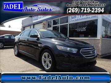 2014 Ford Taurus for sale at Fadel Auto Sales in Battle Creek MI