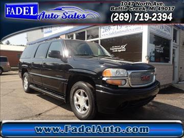 2005 GMC Yukon XL for sale at Fadel Auto Sales in Battle Creek MI