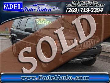 2004 Jeep Grand Cherokee for sale at Fadel Auto Sales in Battle Creek MI
