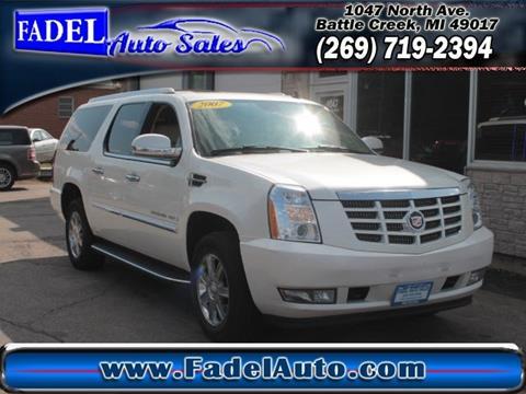 2007 Cadillac Escalade ESV for sale at Fadel Auto Sales in Battle Creek MI