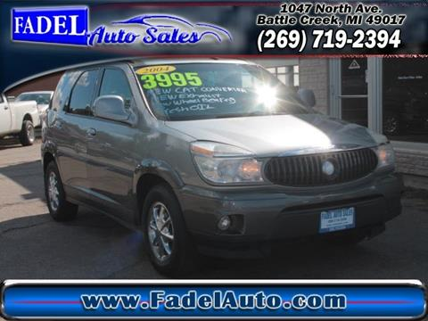 2004 Buick Rendezvous for sale at Fadel Auto Sales in Battle Creek MI