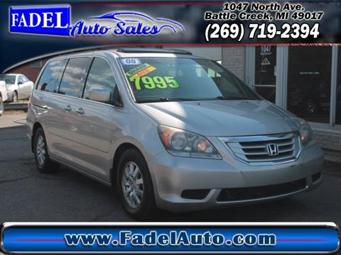 2008 Honda Odyssey for sale at Fadel Auto Sales in Battle Creek MI