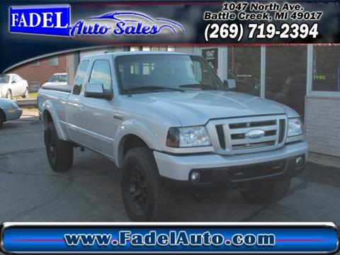 2007 Ford Ranger for sale at Fadel Auto Sales in Battle Creek MI