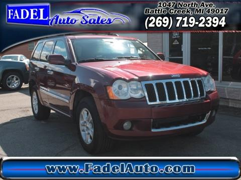2008 Jeep Grand Cherokee for sale at Fadel Auto Sales in Battle Creek MI
