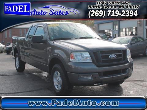 2004 Ford F-150 for sale at Fadel Auto Sales in Battle Creek MI