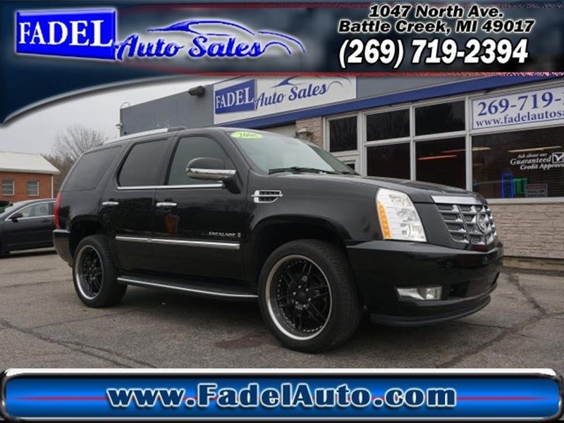 2008 Cadillac Escalade In Battle Creek Mi Fadel Auto Sales