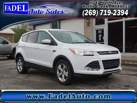2015 Ford Escape for sale in Battle Creek, MI