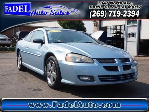 2004 Dodge Stratus for sale at Fadel Auto Sales in Battle Creek MI